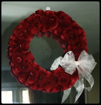 Wreath Valentines Day