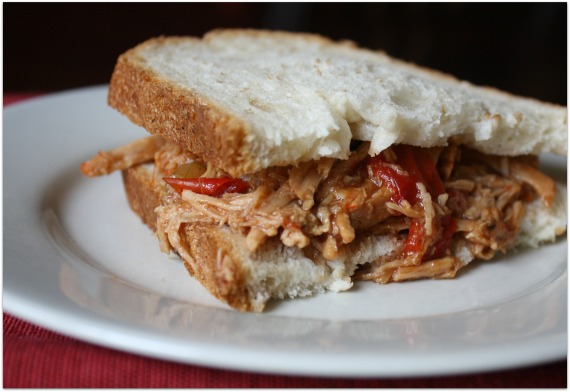 Easy BBQ Crock Pot Pulled Pork